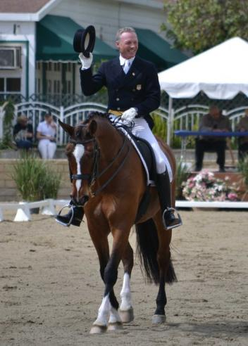 "2012 U.S. Olympic Team members Jan Ebeling & ""Rafalca"" return to the show ring for the first time since London at this weekend's Festival of the Horse CDI 3*/Y/J in California. (Photo: Jennifer M. Keeler)"