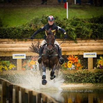 Jessica Phoenix and Pavarotti finish top ten at Fidelity Blenheim International Horse trials held September 12 - 15 near Oxford, UK. Photo credit: Shannon Brinkman Photography
