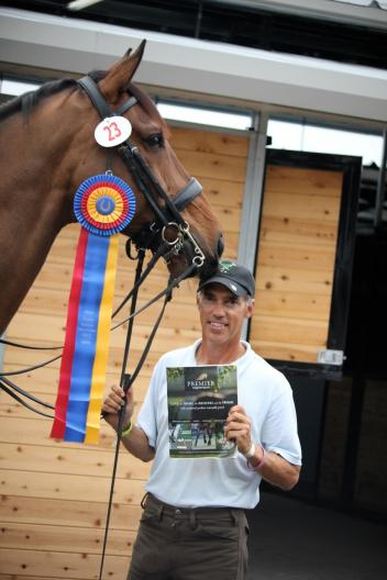 Grand Prix rider Jim Koford won the Premier Equestrian Sportsmanship Award at the Wellington Dressage CDI at the Global Dressage Festival show grounds.