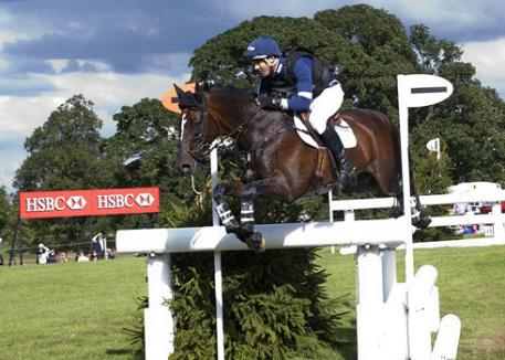 Jock Paget and Clifton Promise at Burghley 2013