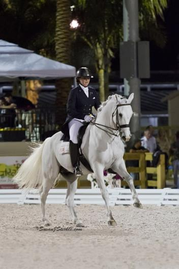 Jodie and Manhattan at the Festival of Champions Photo: SusanJStickle