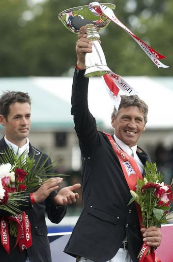 Jock Paget (NZL) and Clifton Promise win the Land Rover Burghley Horse Trials (GBR), the last leg of the HSBC FEI Classics™ series. (Photo: Kate Houghton/FEI).