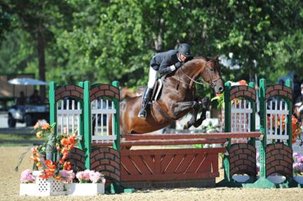 Harold Chopping and Caramo cruise to a ,000 Devoucoux Hunter Prix win at HITS Culpeper with hopes to impress in September's Diamond Mills 0,000 Hunter Prix Final. ESI Photography