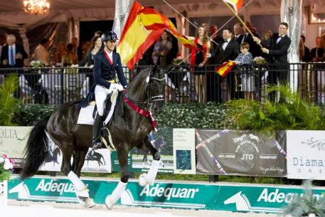 Yeguada de Ymas horses train for world class competition Photo: Yeguada de Ymas