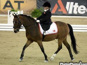 Double Bronze and Silver Freestyle Medalist at Alltech/FEI World Equestrian Games -- Danish Teenager Stinna Tange Kaastrup Chats About Her Start, Her Pony & Their Travels with Holly Jacobson on DressageDaily