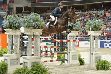 Kent Farrington and Blue Angel. Photo © Shawn McMillen Photography.