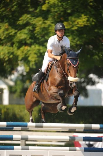 Kent Farrington and Monopoly. Photo by The Book LLC 2013