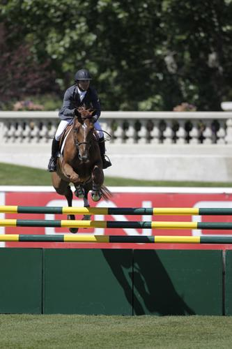 Kent Farrington and Zafira. Photo © Spruce Meadows Media Services.
