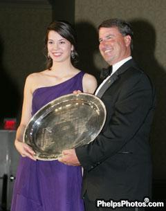 Endurance rider, Kelsey Kimbler Junior Equestrian of the Year