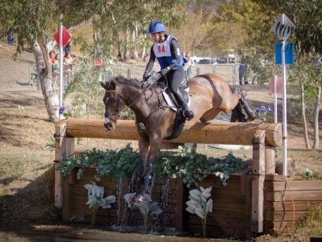 Kiyomi Foster and Tasman at the CCI3*, Galway Downs International Three Day Event & Horse Trials held in Temecula, CA, USA, October 31 to Nov 3, 2013. Photo credit - StockImageServices.com