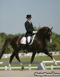Kevin Kohmann and the Swedish Stallion Agastrofus (by Briar) owned by Taunia Reed