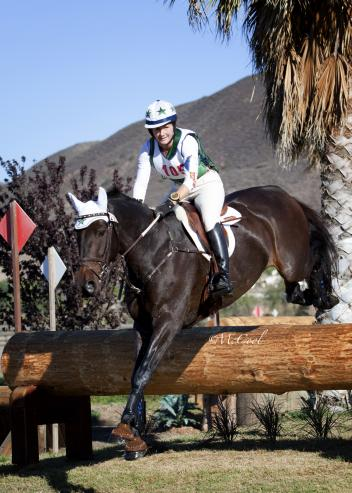 Kristi Nunnink and Lod Lombardi won division A of the Training Level Three-Day Event at the Galway Downs International Three-Day Event. (Amy McCool photo)
