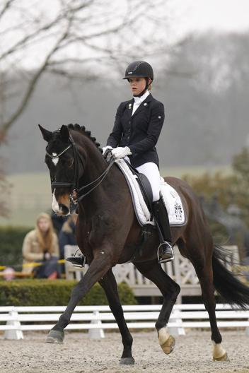 Johanne Pauline von Danwitz and Habitus 10 (Picture: Julia Rau)