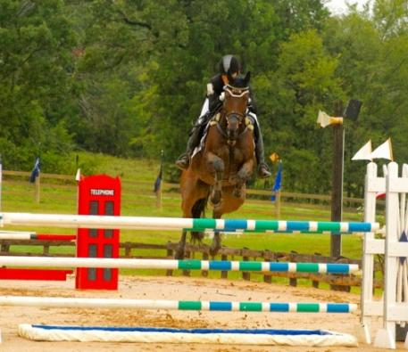Laine Ashker and Anthony Patch on their way to the win. Photo courtesy of Liz Hall.