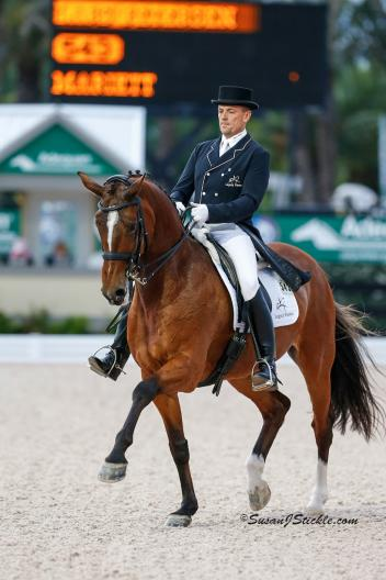 Lars Petersen and Marriett at the 2013 Dressage at Devon CDI. (Photo: SusanJStickle.com)