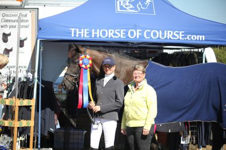 Laurie Moore rode Cynthia Hunting's Zonnerhall to the highest score at the International Sport Horse Palm Beach Show, earning a 77.903%. The high score helped Moore and Zonnerhall win The Horse of Course High Score Award, sponsored by The Horse of Course, Inc.