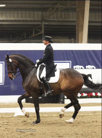 Steffen Peters and Legolas are ranked #1 in Grand Prix (Photo: Phelpsphotos.com)