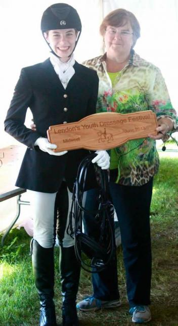 High Point Show Champion –Nicole Gallant on Parrus Total of  254.315 Points