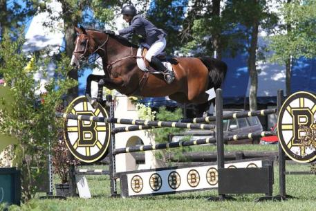 Linda Langmeier and Classic Care captured the ,000 Antarès Grand Prix victory at the Fieldstone Summer Showcase II.