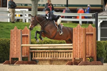 Lindsay Strafuss and Jetset. Photo copyright - The Book LLC