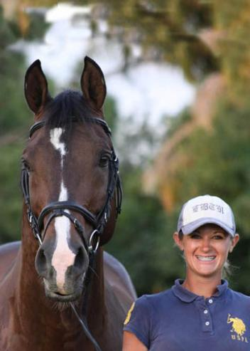 Elisabeth Austin and Olivier will be heading to Great Britain to train with Carl Hester. (Photo: Annabel Sattler)