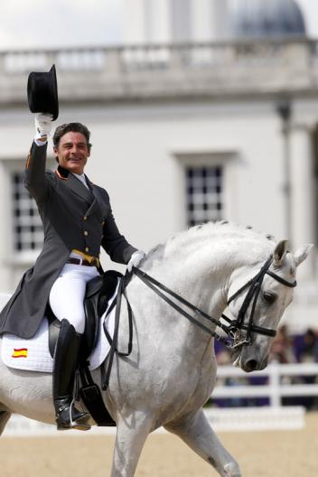 Spanish star Juan Manuel Munoz Diaz (Photo: dressagedirect.com)