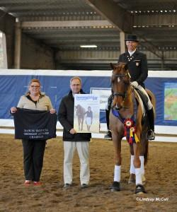 Steffen Peters and up and coming small tour star - Vaya Con Dios (Photo: © Lindsay McCall for HorseGirlTV.com)