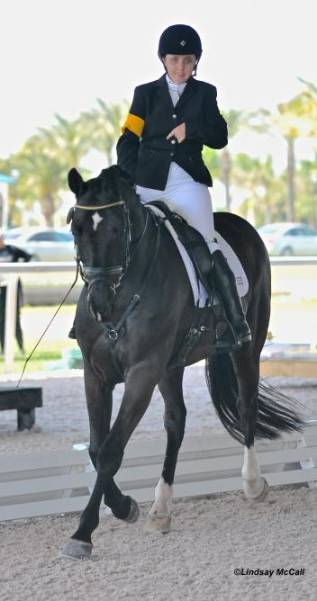 Custom Young Ambassador Grand Prize winner Sydney Collier and her horse, Wentworth. (Photo: courtesy of Lindsay McCall)