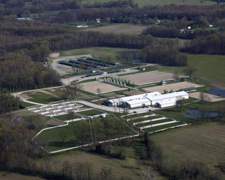 Majestic Farm, Batavia, Ohio offers fabulous facilities and an exciting new ,000 Dressage grand Prix Triple Crown Challenge