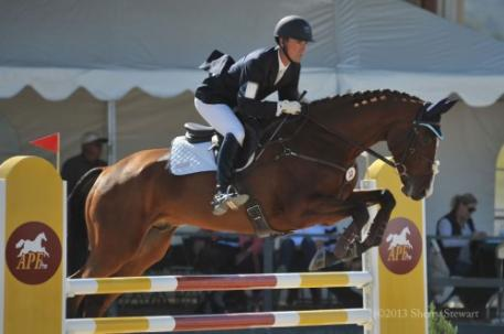 Matthew Brown & BCF Belicoso, winners of the CIC2* (photo by Sherry Stewart)