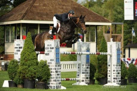 McLain Ward and Cadence Photo by The Book LLC 2013