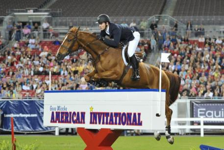 McLain Ward and Rothchild, American Invitational defending champions - photo by The Book LLC