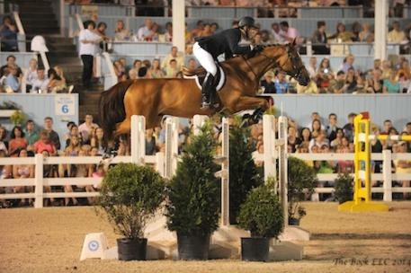 McLain Ward and Rothchild on their way to victory in 2013.Photo © The Book LLC