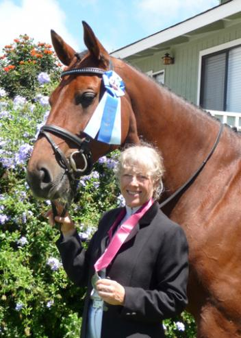 Maui County resident Viva Medina is the 2011 national award recipient of the prestigious Ruth Arvanette Memorial Fund Grant from the United States Dressage Federation (USDF)