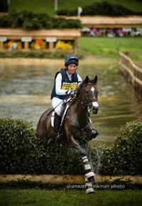 Meghan O'Donoghue and Pirate at the Fidelity Blenheim Palace International Horse Trials (Shannon Brinkman)
