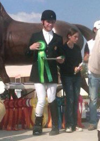 Green is Blue in Mexico and Jonathan Wentz from Richardson, TX collared green all three days in Grade 1b and finished second overall.