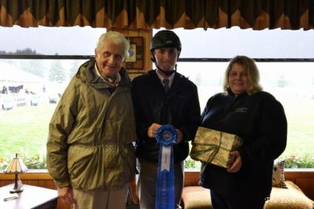 Michael Hughes of Allendale, NJ, won the Lake Placid Lodge 1.30meter Speed Class, the first jumper class of the 2014 Lake Placid Horse Show, Presented by Sea Shore Stables.