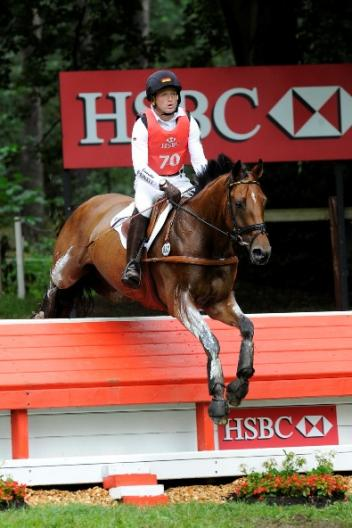 Michael Jung (GER), pictured here with La Biosthetique Sam FBW, was crowned European Champion at the HSBC FEI European Eventing Championships 2011, with his team taking gold in a nail-biting finale at Luhmühlen (GER). (Photo: Kit Houghton/FEI).