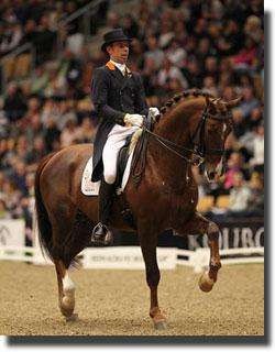 The Netherlands' Hans Peter Minderhoud and IPS Tango (Photo by FEI/Ridehesten.com)