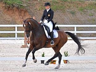 Natalia Martin and Her 2010 Central American and Caribbean Games Mount, Wilbur (Photo courtesy Kara Dickey)