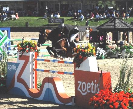 Nayel Nassar beat a field of 39 top horses and riders to take the win in the Zoetis  Million Grand Prix at HITS-on-the-Hudson on Sunday. The win earned the Egyptian rider a 350,000 check.