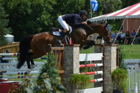 Nick Novak and Rendezvous 22 take second place in the ,000 Grand Prix of Indianapolis.