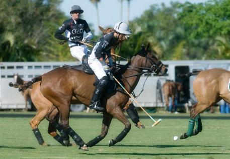 Audi's Nico Pieres will play in this Thursday's match against Las Monjitas. Photo by Scott Fisher.