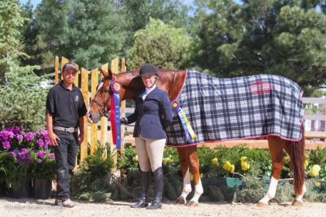 Nicole Lyvere and Wink with groom Mario Vega