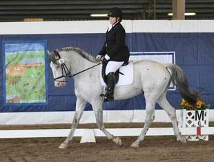 Laurietta Oakleaf and VPRH Pegasus VOM Niehous-HOF at the 2011 Dressage Affaire CPEDI3*