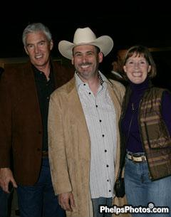 R. Scott Evans, Sean O'keefe, and Sheryl Kursar of the Equestrian Aid Foundation