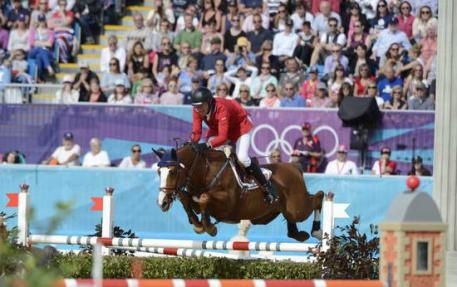 Rich Fellers and Flexible advance to the individual rounds (Photo: Diana DeRosa)