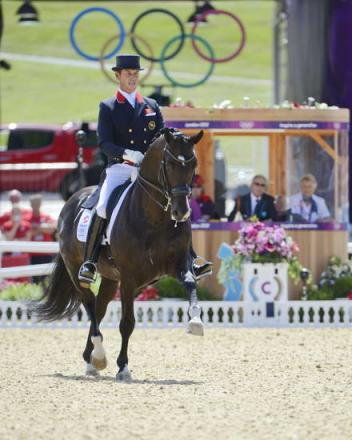Carl Hester and Uthopia on top after Day 1 Grand Prix (Photo: Diana DeRosa)