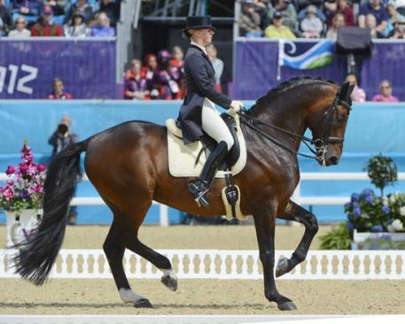 Victoria Max-Theurer from Austria rode Augustin to place 13th (Photo: Diana DeRosa)