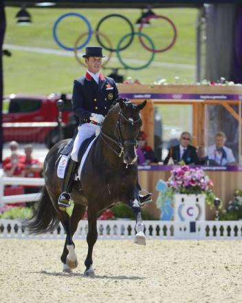 Team Gold medal winners Carl Hester and Uthopia finished 5th (Photo: Diana DeRosa)